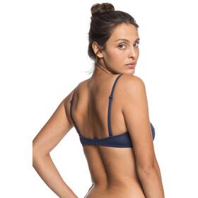 Roxy Solid Beach Classics Bandeau Regular Femme, mood indigo